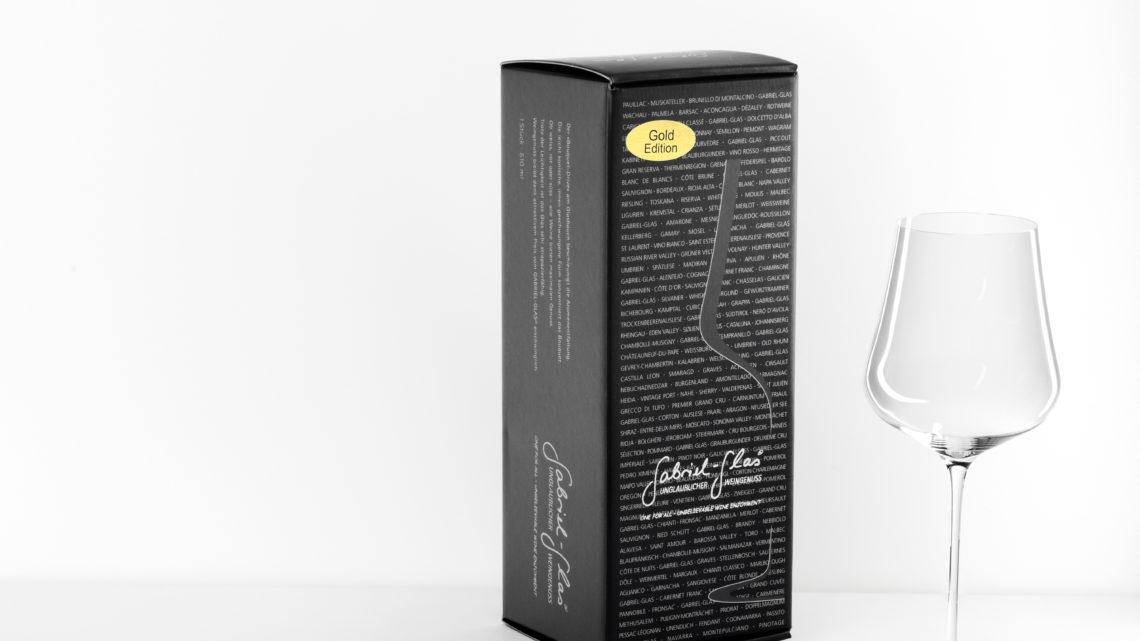 Gabriel Glas Gold Edition 1er Designkarton