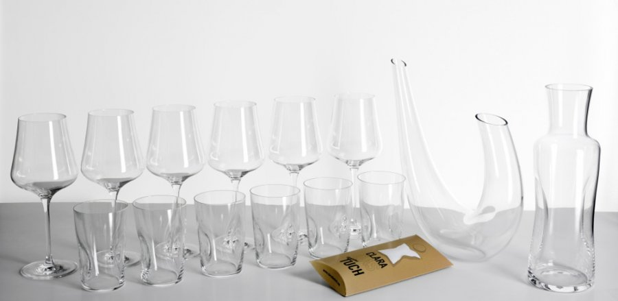 Gabriel-Glas Komplett-Set Gold Edition