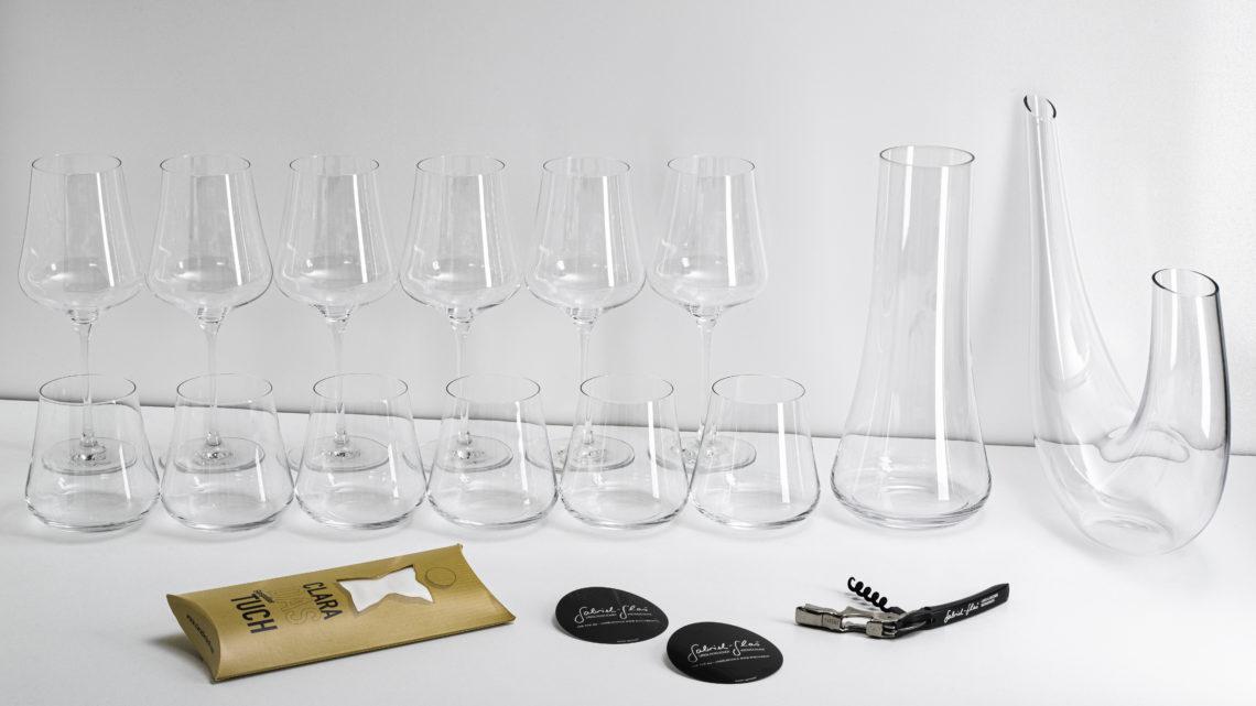 Komplett-Set Gabriel-Glas
